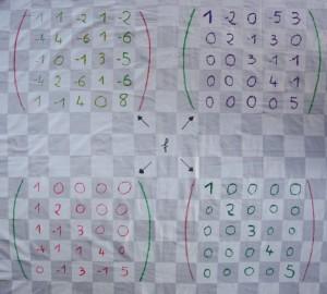 quatre matrices
